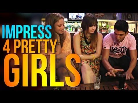 Bar Magic Tricks: IMPRESS Pretty Girls With This Magic Trick!