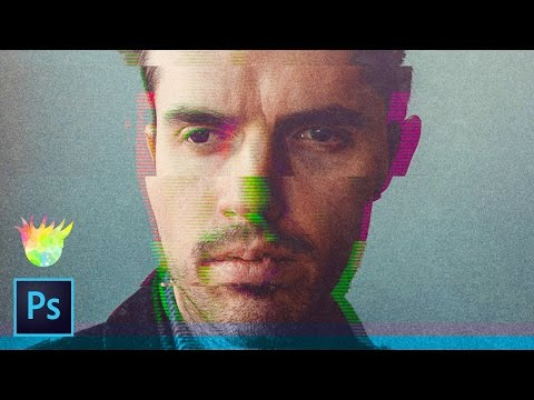 How to Create 5 Amazing Glitch Effects in Photoshop!