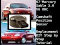 How to replace a Camshaft Position Sensor on a Mercury Sable Ford Taurus 1997