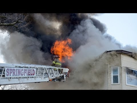 18 left homeless as fire destroys North End apartment building in Springfield