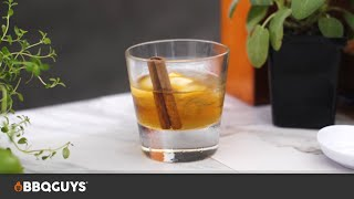 Old Fashioned Cocktail with Smoked Cinnamon Recipe | BBQGuys