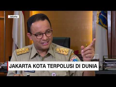 Gubernur Anies Bicara Soal Jakarta Jadi Kota Terpolusi Tertinggi di Dunia