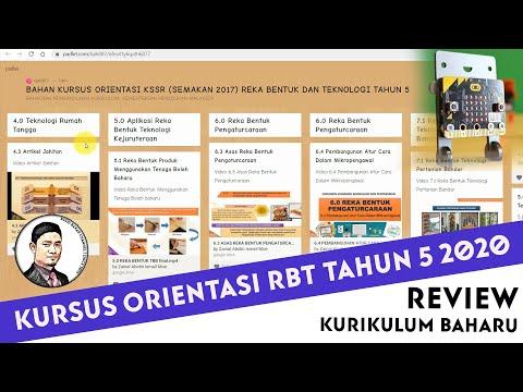 Review Kursus Oreintasi Kssr Semakan Tahun 5 Rbt 2021 Youtube