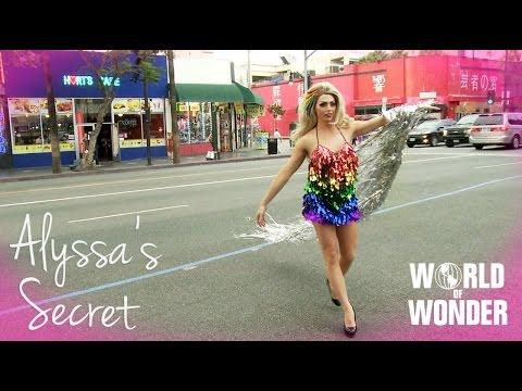 Alyssa Edwards' Secret - Marriage Equality #LoveWins on Hollywood Blvd
