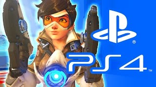 OVERWATCH PS4 EARLY ACCESS BETA Overwatch PS4 Gameplay Squadron Overwatch Gameplay