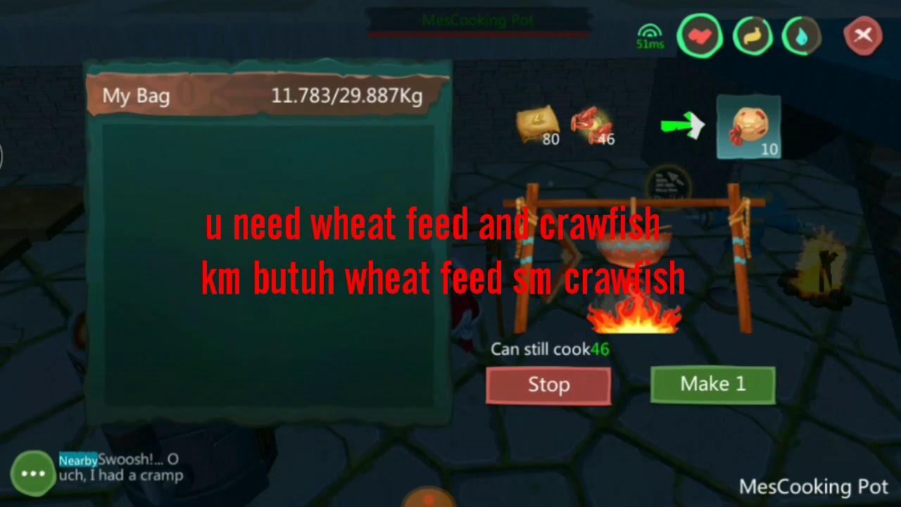 Utopia Origin How To Make Crawfish Bait For Catch Abalone And Elf Fish Youtube