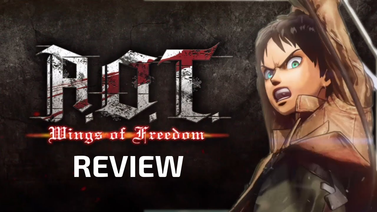 Attack on Titan: Wings of Freedom - Video Game Review – AwksNerd