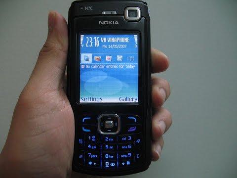 Cách Reset điện thoại Nokia N70 và cách máy Nokia Nseries khác