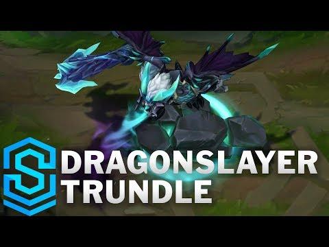 Dragonslayer Trundle Skin Spotlight - Pre-Release - League of Legends