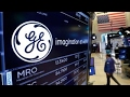 General Electric's stock rises as CEO steps down