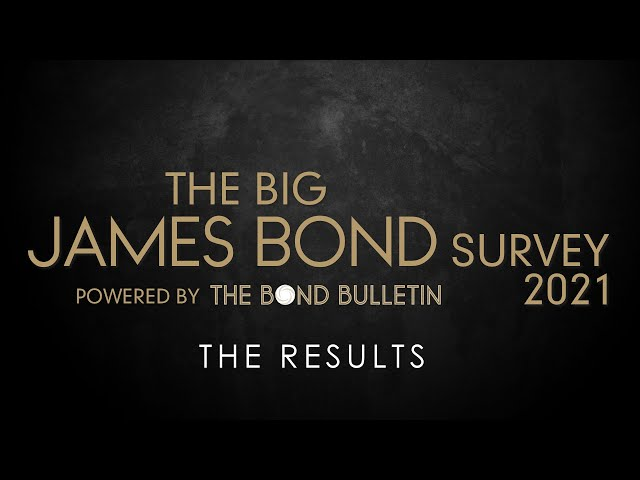 The Big James Bond Survey 2021 - The Results