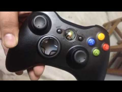 Quick Unboxing : Microsoft Xbox 360 Wireless Controller for Windows (2014)