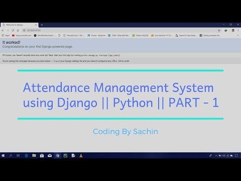 Django Attendance Management System