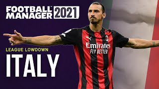 FM21 Guide To Italy FM21 Save Ideas FOOTBALL MANAGER 2021 FM21 Teams To Manage