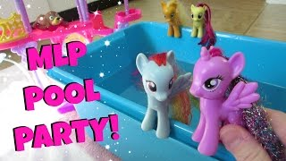 MY LITTLE PONY POOL PARTY! Ep. 8!