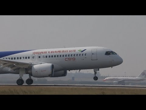 C919 Completes Third Trial Flight at Shanghai Airport