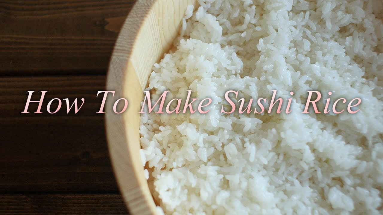 How To Make Sushi Rice.   酢飯の作り方 (4K)