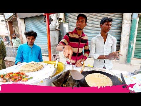 INCREDIBLE Indian STREET FOOD Breakfast Tour of Fancy Bazaar | Guwahati, Assam, India