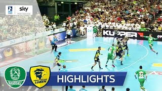DHfK Leipzig - Rhein-Neckar Löwen | Highlights - DKB Handball Bundesliga 2018/19
