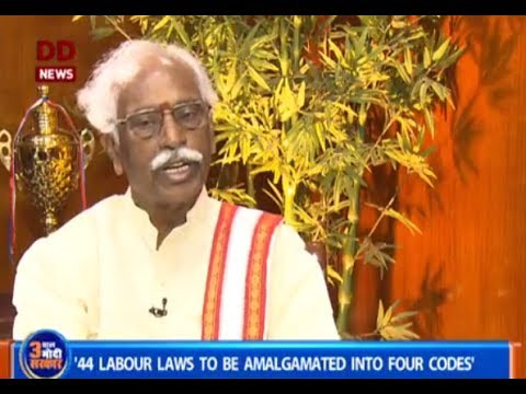 मंत्री जी DIRECT: Interview with MoS (IC) Labour and Employment Bandaru Dattatreya | 18/06/2017