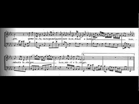 """Da capo ornaments ~ Georg Friedrich Handel ~ Giulio Cesare in Egitto (1724) ~ """"Cara speme"""""""