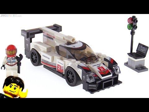 LEGO Speed Champions Porsche 919 Hybrid review! 75887