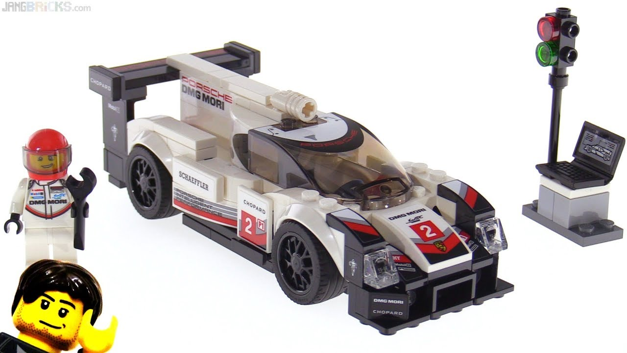 lego speed champions porsche 919 hybrid 75887. Black Bedroom Furniture Sets. Home Design Ideas
