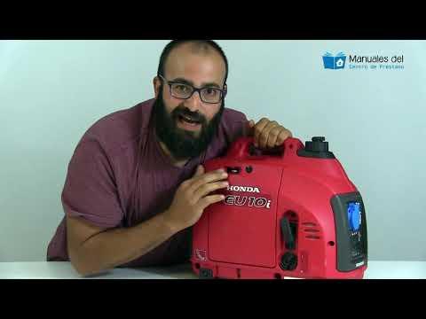 Cómo funciona el generador Honda Eu10i y el Powermate Pmi 2000