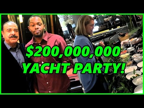 Partying On A 200 Million Dollar Yacht In London! | UK Vlog Pt.1