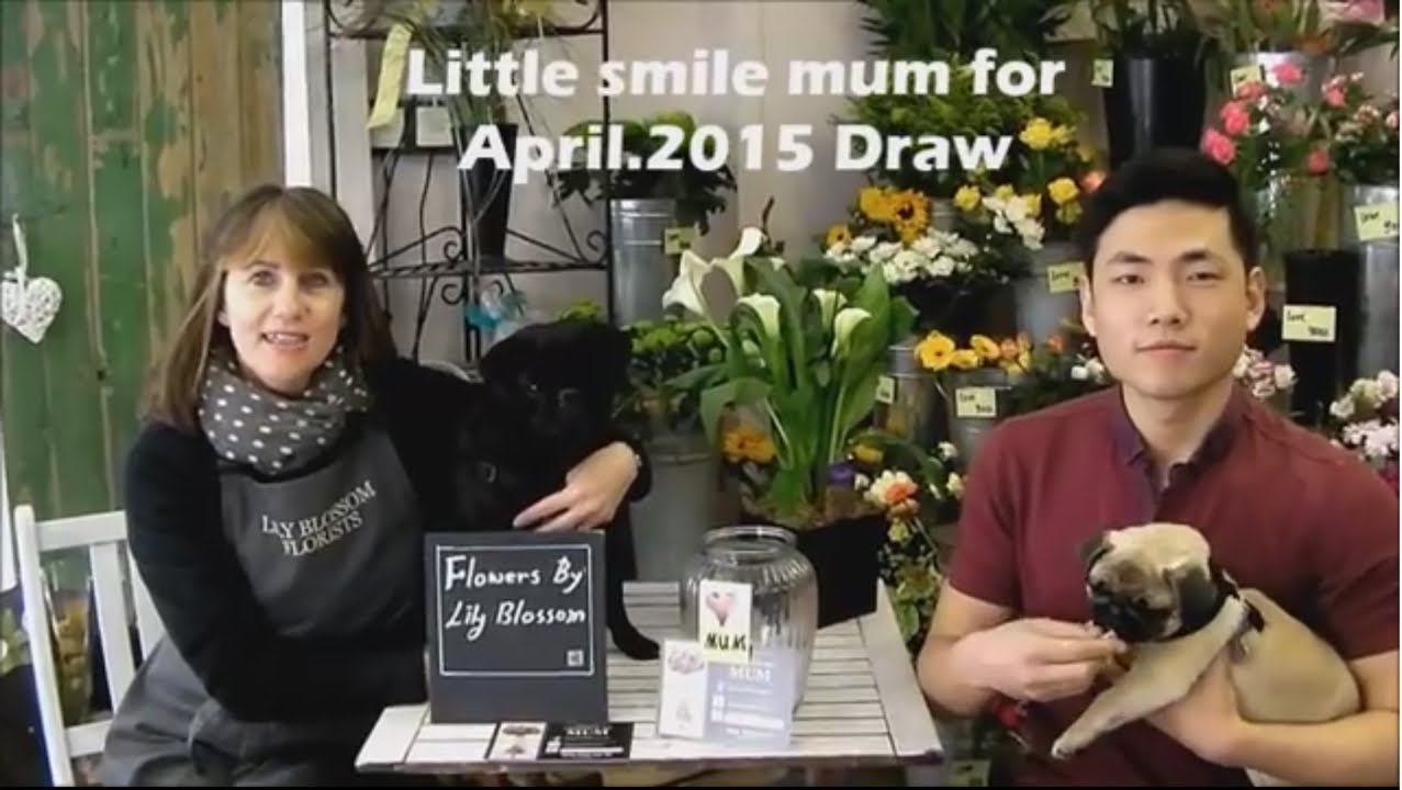Liltte Smile Mum Campaign April2015 Draw By Lily Blossom Florists