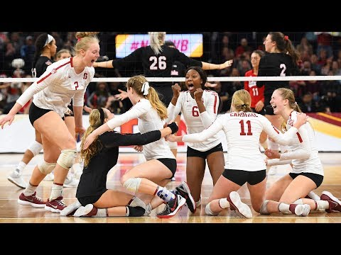 Highlights: Stanford women's volleyball captures eighth national title in school history with...