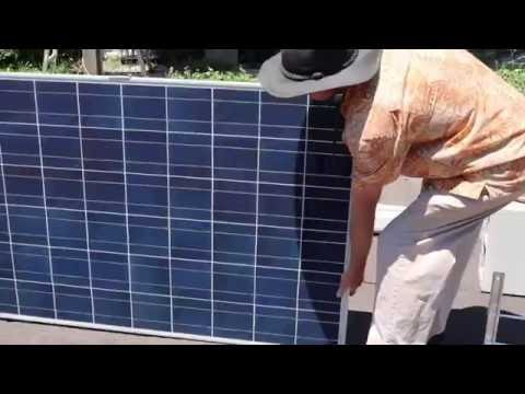 solar video with ambient sound