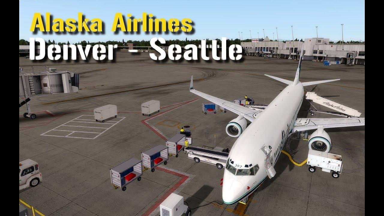 Prepar3d V3 3 Pmdg 737 Ngx Denver Seattle Alaska