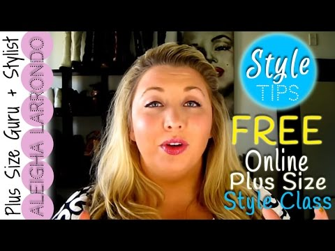 Plus Size Fashion - 10 Best Plus Size Style Tips - FREE Online Style Class