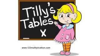 Learn Math Tables Fast at Tilly's Schoolhouse, Cool Math Games for Multiplication no math song, rap