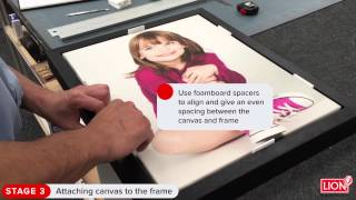 Turn Print Into Wall Décor – Making A Tray Frame For A Stretched Canvas