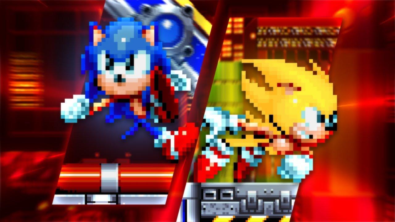 Sonic Mania, with Alternative Sprites!