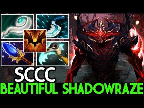 SCCC [Shadow Fiend] Beautiful Shadowraze 100% Outplayed 7.23 Dota 2