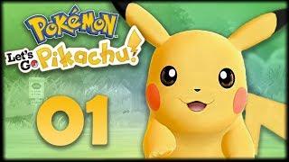 МОЙ ПИКАЧУ -  Pokemon: Lets Go, Pikachu #1 - Прохождение (ПОКЕМОНЫ НА НИНТЕНДО СВИЧ)