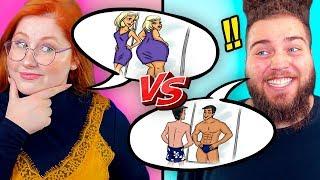 HOMENS VS MULHERES