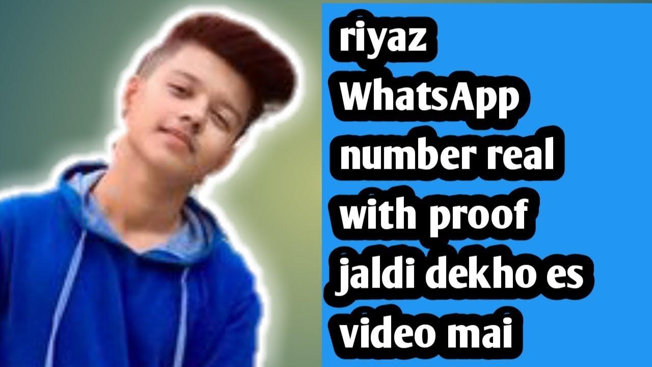 Riyaz tiktok star WhatsApp number riyaz ka WhatsApp number in Hindi