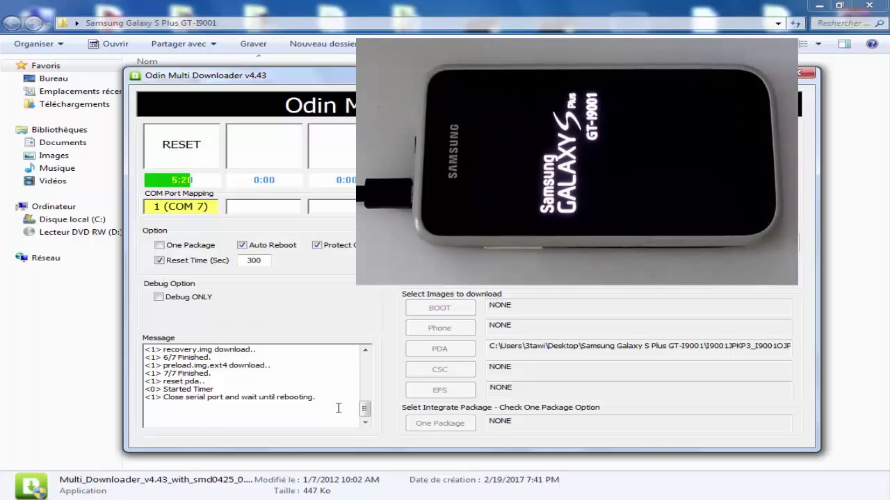 Samsung gt-i9001 galaxy s plus hard reset, factory reset and.