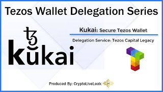 Tezos Wallet Delegation Series | Kukai: Secure Tezos Wallet