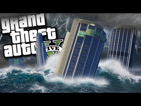 The ULTIMATE SUPER STORM HURRICANE MOD (GTA 5 PC Mods Gameplay)