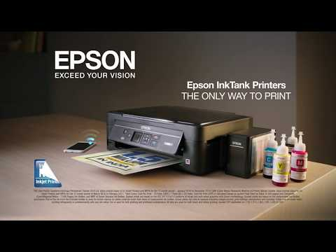 Epson InkTank Printers 'TICKET' 30 sec TV Commercial