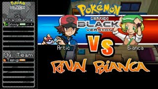 Pokemon Pure White & Pitch Black - VS Rival Bianca - Battle 1