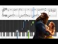 Beauty And The Beast - Ariana Grande & John Legend - Piano Tutorial + SHEETS