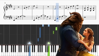 Video Beauty And The Beast - Ariana Grande & John Legend - Piano Tutorial + SHEETS download MP3, 3GP, MP4, WEBM, AVI, FLV Agustus 2018