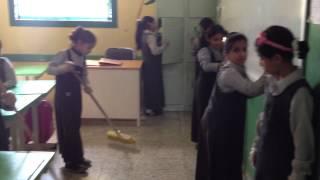 مشروع فينا خير - المدرسة الثالثة للبنات بالحريق