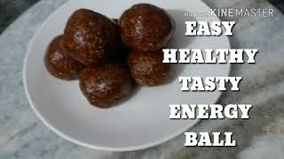 TASTY AND HEALTHY ENERGY BALL | ELAZ KITCHEN